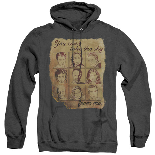 Image for Firefly Heather Hoodie - Burned Poster