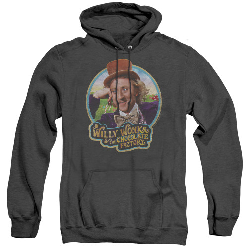 Image for Willy Wonka and the Chocolate Factory Heather Hoodie - It's Scrumdiddlyumptious