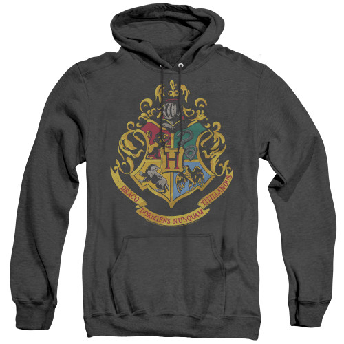 Image for Harry Potter Heather Hoodie - Hogwarts Crest