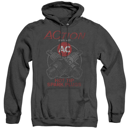 Image for AC Delco Heather Hoodie - Cross Plugs