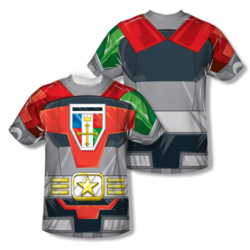 Image Closeup for Voltron Sublimated T-Shirt - Costume