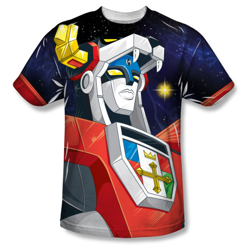 Image for Voltron Sublimated T-Shirt - Space 100% Polyester