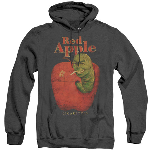 Image for Pulp Fiction Heather Hoodie - Red Apple