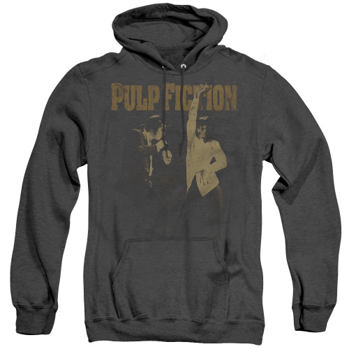Image for Pulp Fiction Heather Hoodie - I Wanna Dance