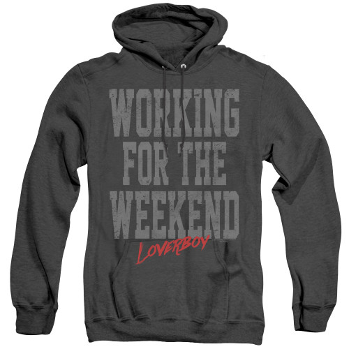 Image for Loverboy Heather Hoodie - Working