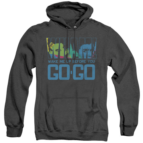Image for Wham! Heather Hoodie - Wake Me Up Before You Go Go