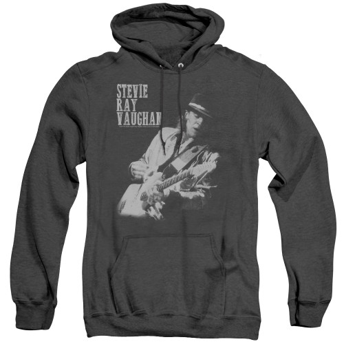 Image for Stevie Ray Vaughan Heather Hoodie - Live Alive