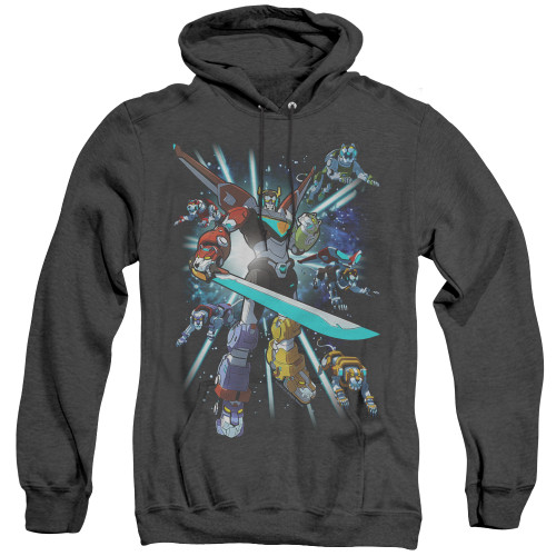 Image for Voltron: Legendary Defender Heather Hoodie - Lions Share