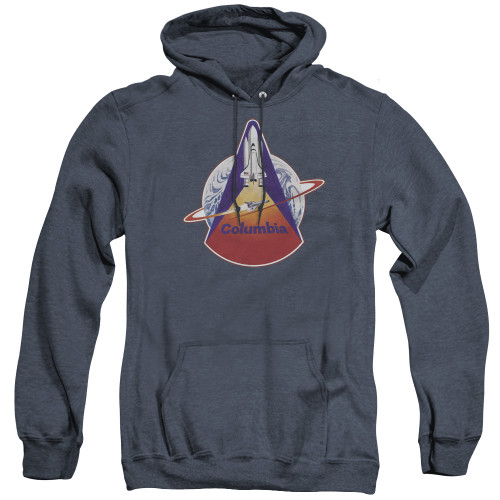 Image for NASA Heather Hoodie - STS 1 Mission Patch