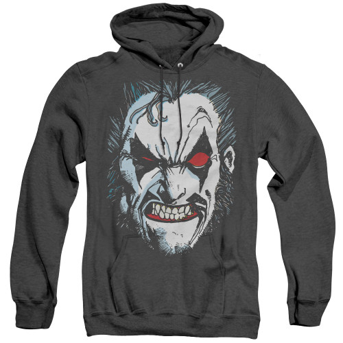 Image for Lobo Heather Hoodie - Face