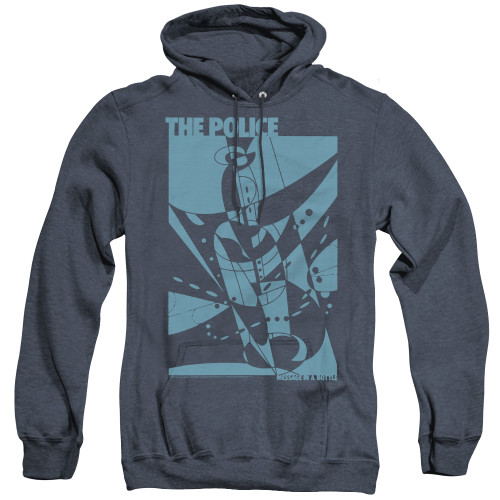 Image for The Police Heather Hoodie - Message in a Bottle
