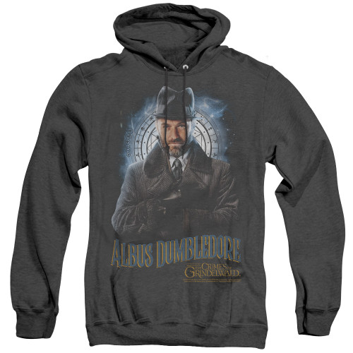 Image for Fantastic Beasts: the Crimes of Grindelwald Heather Hoodie - Dumbledore