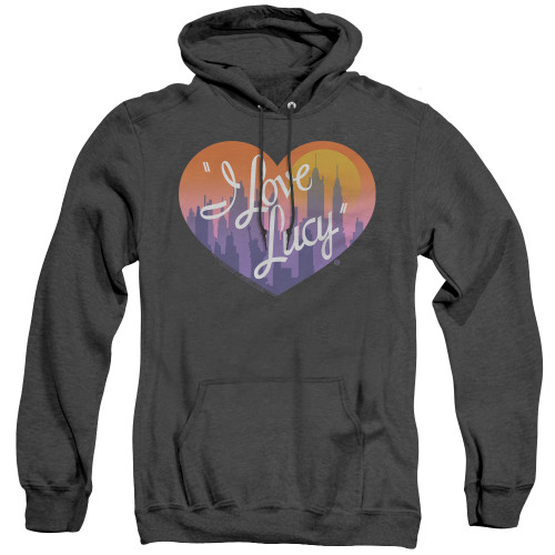 Image for I Love Lucy Heather Hoodie - Heart of the City