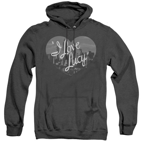 Image for I Love Lucy Heather Hoodie - Nostalgic City