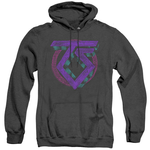 Image for Twisted Sister Heather Hoodie - Symbol