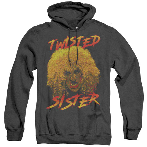 Image for Twisted Sister Heather Hoodie - Twisted Scream