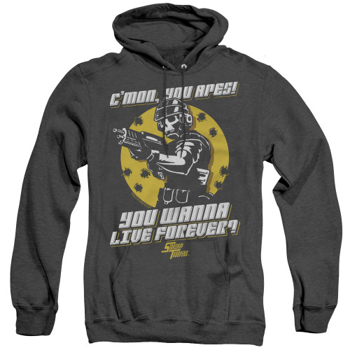 Image for Starship Troopers Heather Hoodie - Death of the Ape