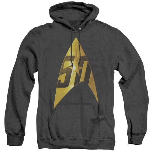 Image for Star Trek Heather Hoodie - 50th Anniversary Delta