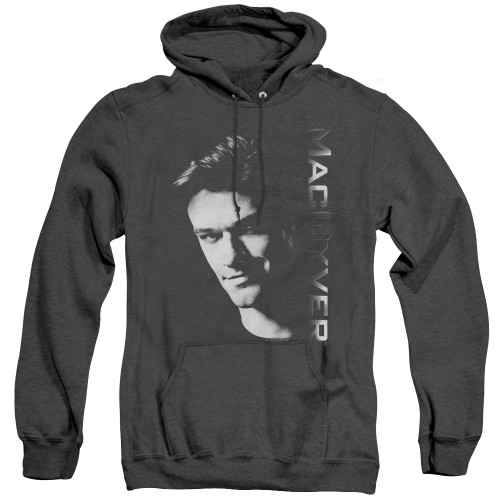 Image for MacGyver Heather Hoodie - Face