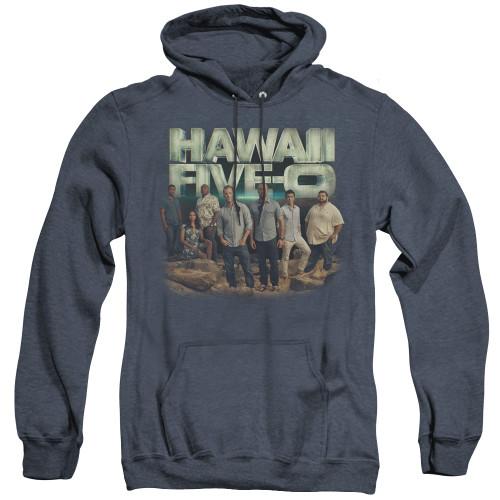 Image for Hawaii Five-0 Heather Hoodie - Cast