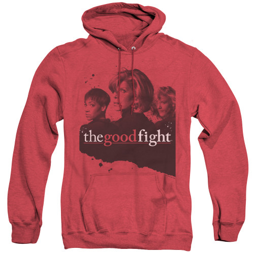 Image for The Good Fight Heather Hoodie - Diane Lucca Maia