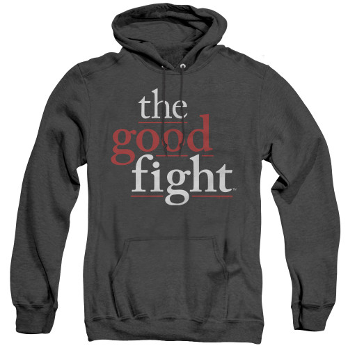 Image for The Good Fight Heather Hoodie - Logo