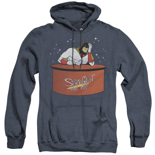 Image for Space Ghost Coast to Coast Heather Hoodie - Great Galaxies