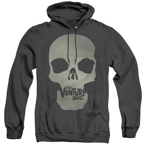 Image for The Venture Bros. Heather Hoodie - Skull Logo