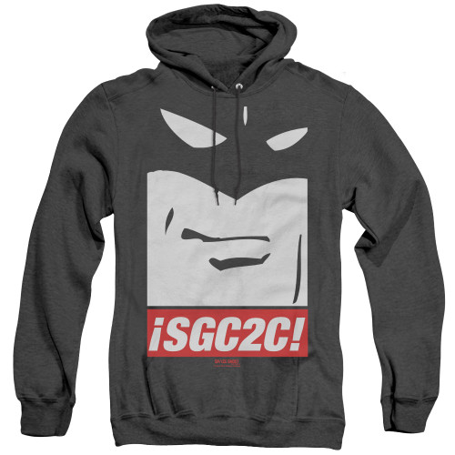 Image for Space Ghost Coast to Coast Heather Hoodie - SGC2C