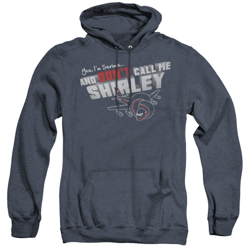 Image for Airplane Heather Hoodie - Don't Call Me Shirley