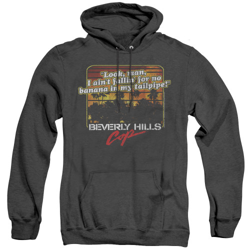Image for Beverly Hills Cop Heather Hoodie - Banana in My Tailpipe