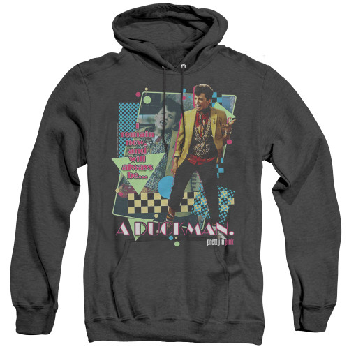 Image for Pretty in Pink Heather Hoodie - A Duckman