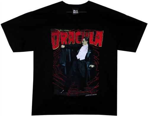 Image For Bela Legosi is Dracula T-Shirt