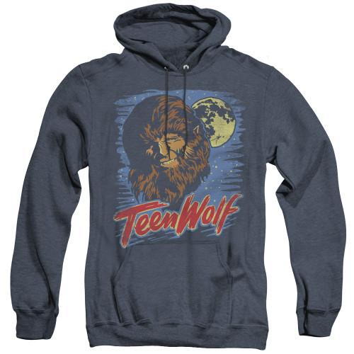 Image for Teen Wolf Heather Hoodie - Wolf Moon