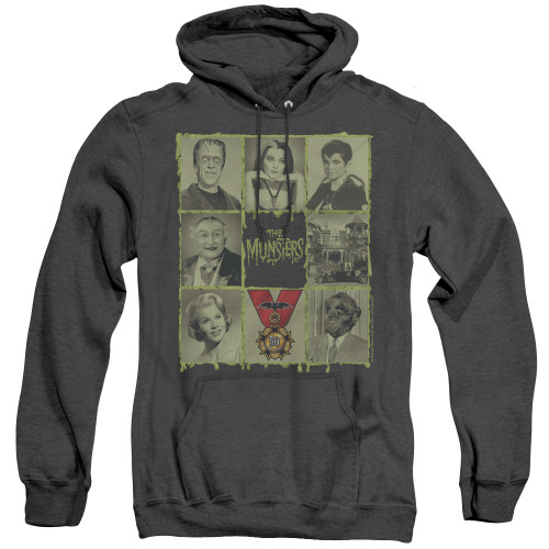 Image for The Munsters Heather Hoodie - Black