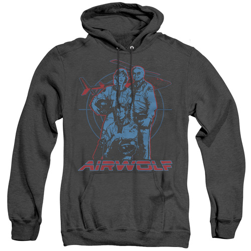 Image for Airwolf Heather Hoodie - Graphic