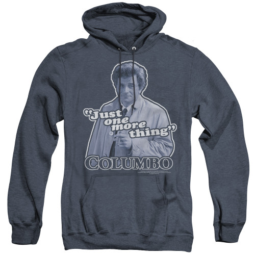 Image for Columbo Heather Hoodie - Just One More Thing
