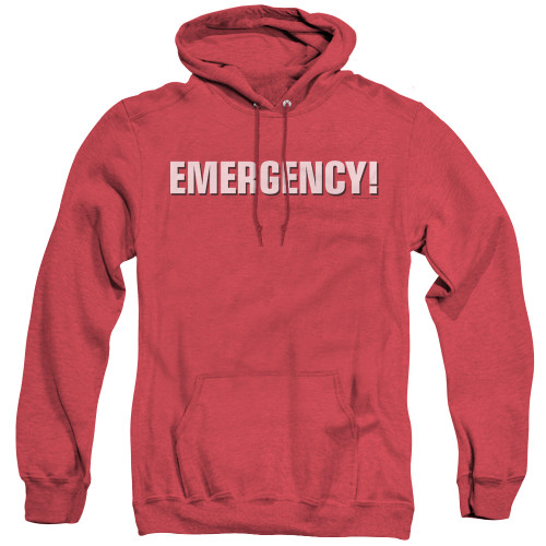Image for Emergency Heather Hoodie - Logo