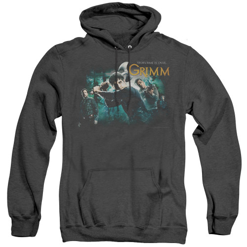 Image for Grimm Heather Hoodie - Storytime is Over