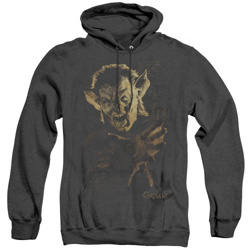 Image for Grimm Heather Hoodie - Murcilago