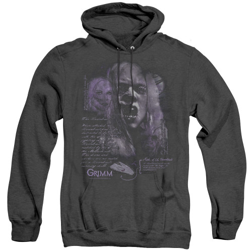 Image for Grimm Heather Hoodie - Lady Hexenbeast