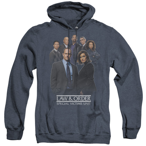 Image for Law and Order Heather Hoodie - SVU Team