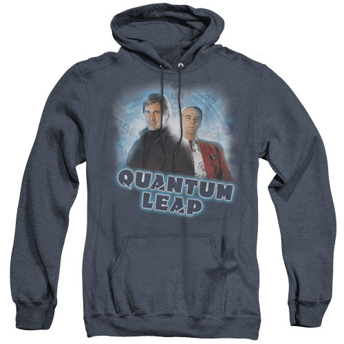 Image for Quantum Leap Heather Hoodie - Sam and Al