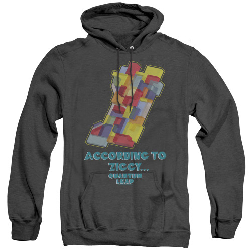 Image for Quantum Leap Heather Hoodie - According to Ziggy