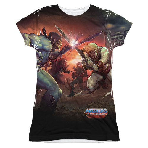 Image for Masters of the Universe Girls Sublimated T-Shirt - Battle 100% Polyester
