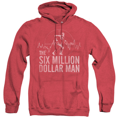 Image for The Six Million Dollar Man Heather Hoodie - Target