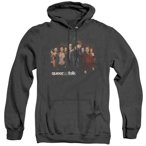 Image for Queer as Folk Heather Hoodie - Title