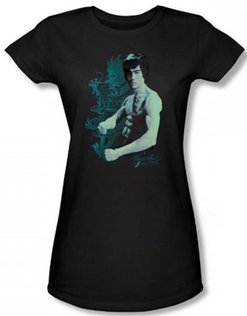 Image for Bruce Lee Girls T-Shirt - Feel! T-Shirt