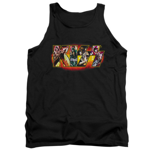 Image for Kiss Tank Top - Stage Logo