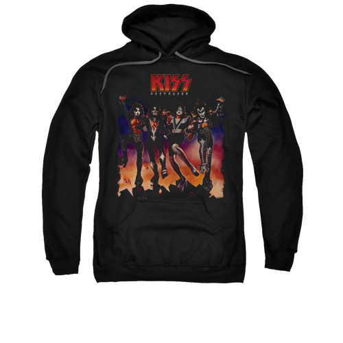 Image for Kiss Hoodie - Destroyer Cover